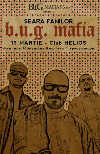 Seara fanilor B.U.G.Mafia - 19.03.2010 - club Helios