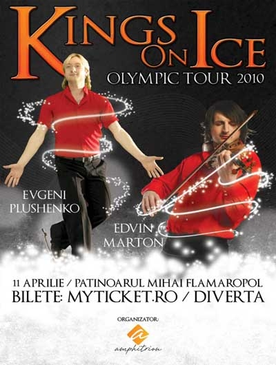 KINGS ON ICE - OLYMPIC TOUR 2010: EVGENI PLUSHENKO & EDVIN MARTON