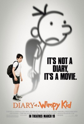 diary of a wimpy kid poster 270x400 Diary of a Wimpy Kid   Ghid de supravietuire in gimnaziu