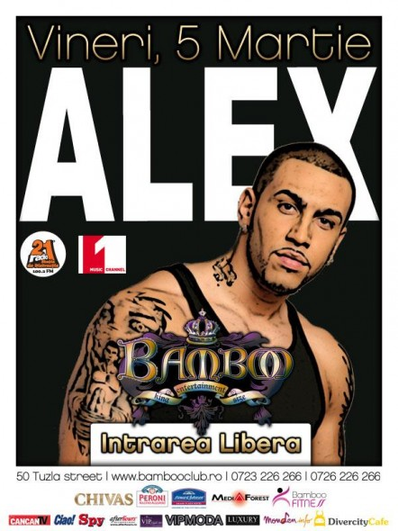 l e4b29228a7f54b79bff662359c4fb6e8 442x590 Concert Alex @ Club Bamboo