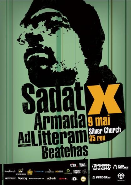 Sadat X in Silver Church - 9 Mai -