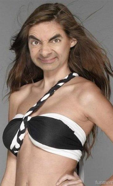 bean daughter Mr. Bean in cateva roluri destul de neasteptate:
