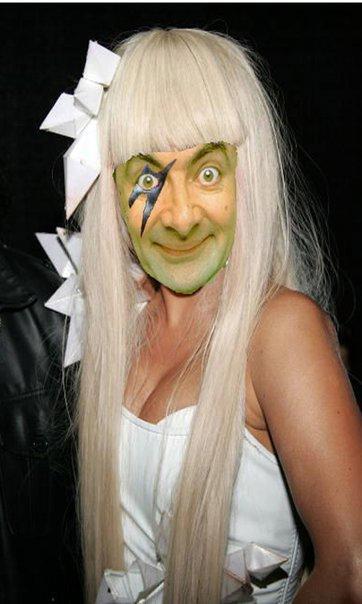 bean gaga Mr. Bean in cateva roluri destul de neasteptate: