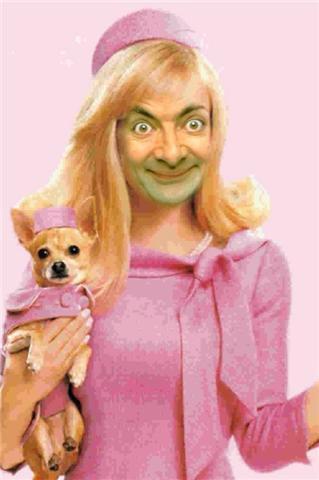 bean legally blonde Mr. Bean in cateva roluri destul de neasteptate: