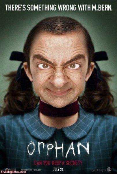 bean orphan Mr. Bean in cateva roluri destul de neasteptate: