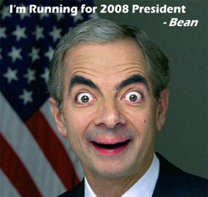 bean president Mr. Bean in cateva roluri destul de neasteptate: