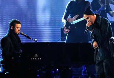 grammy09 show16 Piesa noua: Jamie Foxx feat. Justin Timberlake & T.I. – Winner + spot NBA