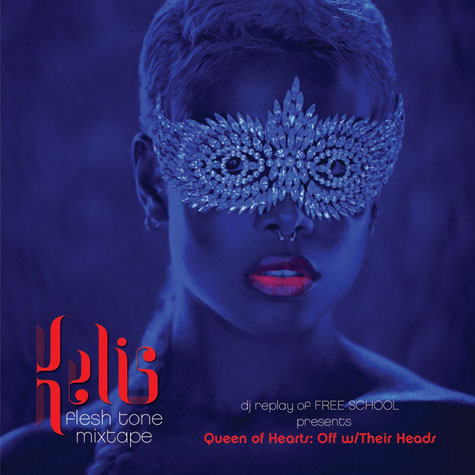 kelis mixtape front Kelis: Queen of Hearts: Off with Their Heads – Flesh Tone Mixtape + Download