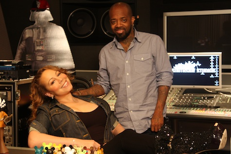 mariah jd Mariah Carey si JD in studio pentru Memoirs of an Imperfect Angel