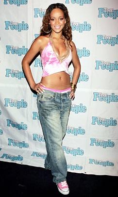 106774 1 rihanna fashion jay z 071405 617 409 Rihanna   Then & Now