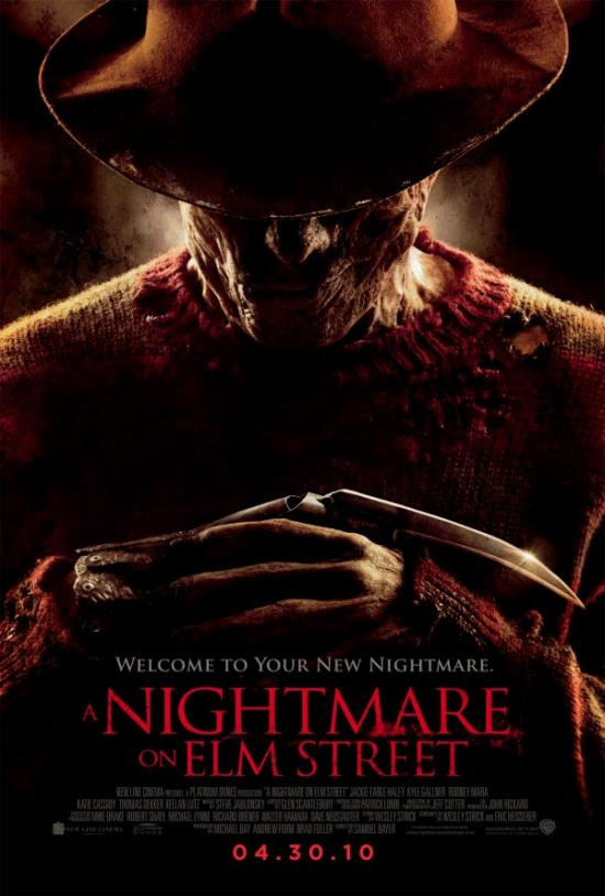 A Nightmare on Elm Street 2010 movie poster A Nightmare on Elm Street   Cosmarul revine