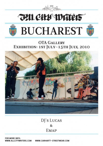 All City Writers @ Bucuresti, OTA Gallery
