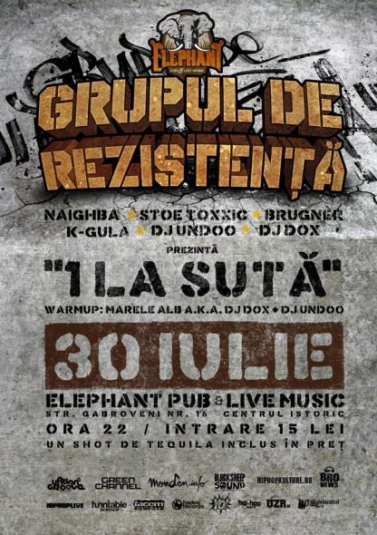 Concert GDR @ club Elephant