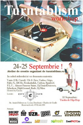 Workshop de turntablism