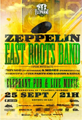 Zeppelin & East Roots Band Live @ Elephant Pub