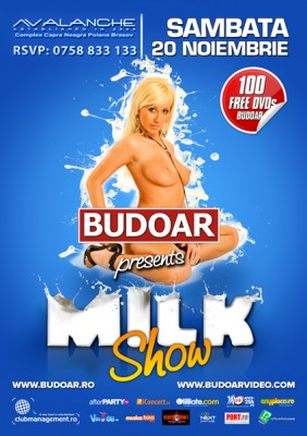 Budoar presents Milk Show @ Avalanche