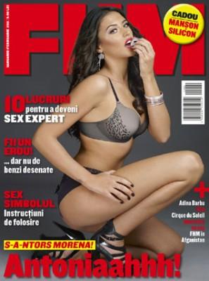 Antonia in FHM