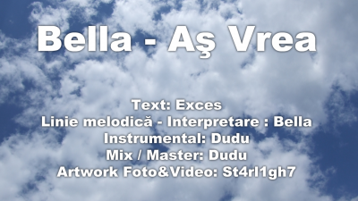 Bella As Vrea Single nou www.vedetepenet.ro  400x225 Bella   As Vrea (Single nou)