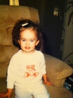 5 299x400 Poze cu Megan Fox de cand era mica