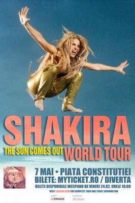Concert Shakira la Bucuresti www.vedetepenet.ro