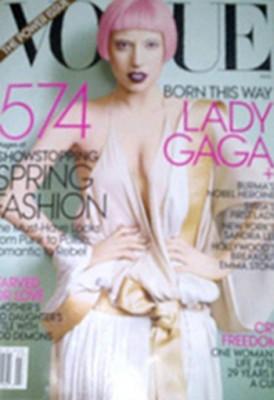 Lady Gaga www.vedetepenet.ro  274x400 Lady Gaga pe coperta revistei Vogue