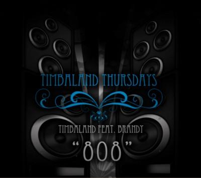 timbo 400x354 Piesa noua: Timbaland feat. Brandy   808