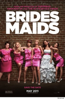 bridesmaids movie poster 264x400 Trailer nou pentru Bridesmaides