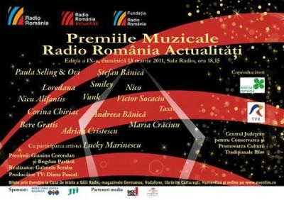Premiile muzicale Radio România Actualităţi 2011 www.vedetepenet.ro