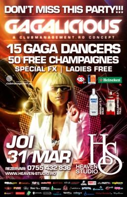 Gagalicious @ Heaven Studio, Timisoara, Joi, 21-Mar-2011www.vedetepenet.ro