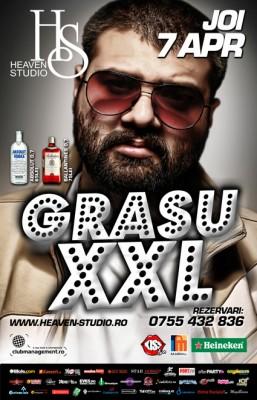 GRASU XXL @ Heaven Studio (Timisoara) www.vedetepenet.ro