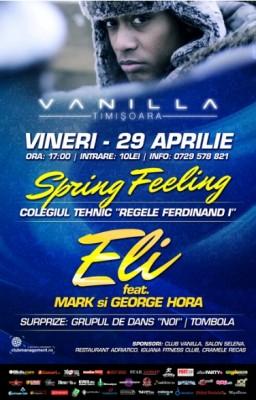 Eli cu Mark şi George Hora @ Club Vanilla, Timişoara www.vedetepenet.ro