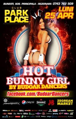 Hot Bunny Girl by Budoar Dancers @ Park Place, Bunesti www.vedetepenet.ro