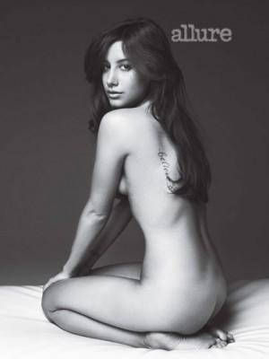 """Ashley Tisdale a pozat nud pentru revista """"Allure""""www.vedetepenet.ro"""