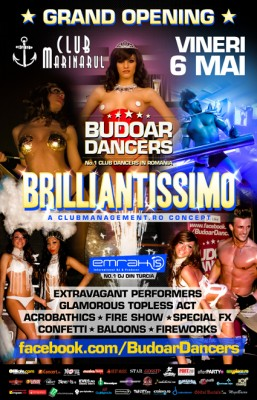 Grand Opening Brilliantissimo by Budoar Dancers @ Club Marinarul din Bacău www.vedetepenet.ro