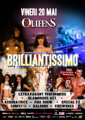 Brilliantissimo în Club Queen's din Iaşi www.vedetepenet.ro