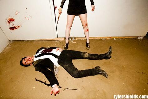 6 Lindsay Lohan şi Michael Trevino sunt vampiri (foto+video)