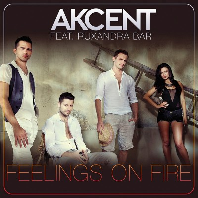 Akcent feat Ruxandra Bar - Feelings On Fire www.vedetepenet.ro