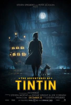 Aventurile lui Tintin 270x400 Teaser trailer: Aventurile lui Tintin: Secretul Unicornului (3D)