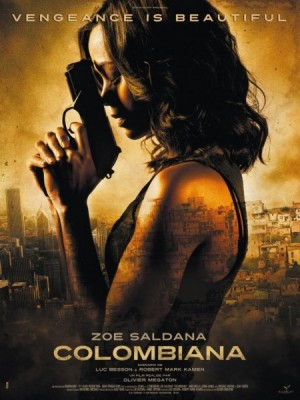 Colombiana Film Poster 450x600 300x400 Thriller: Colombiana (trailer)