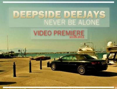 Deepside Dejays Never Be Alone www.vedetepenet.ro  400x303 Deepside Deejays   Never Be Alone (Videoclip)