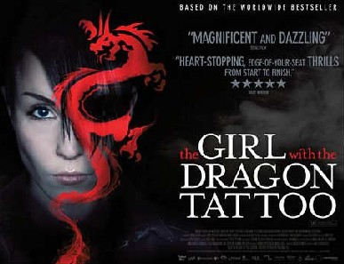 The girl with the dragon tattoo poster e1306744413917 Mister în jurul trailerului The Girl With the Dragon Tattoo