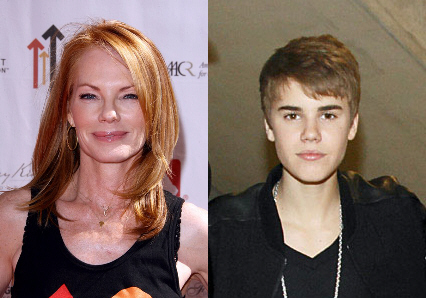 helgenberger bieber1 Marg Helgenberger este în conflict cu Justin Bieber