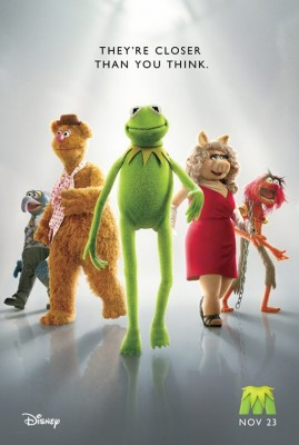 the muppets 269x400 Teaser trailer: The Muppets