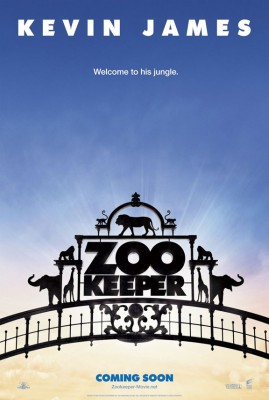the zookeeper 269x400 Super comedie: Zookeeper (trailer)