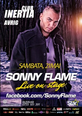 Concert Sonny Flame în Club Inertia  www.vedetepenet.ro