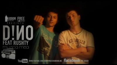 D!no feat Rushty-Ea(Muzica mea) www.vedetepenet.ro