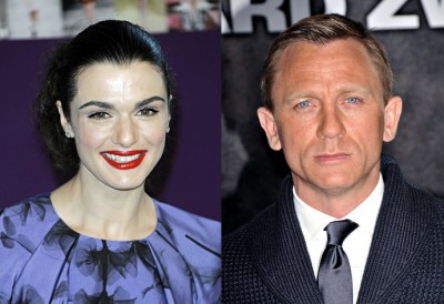 craig weisz 400x274 Surpriză la Hollywood! Daniel Craig şi Rachel Weisz s au căsătorit (video)