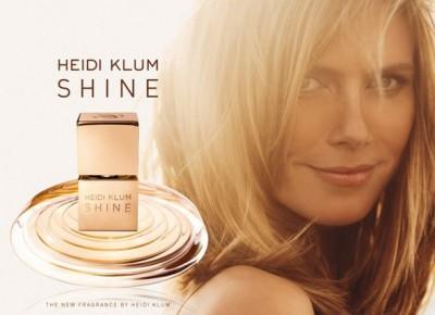 heidi klum shine parfum 400x290 Shine   primul parfum creat de Heidi Klum