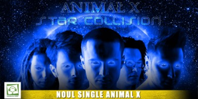 singlesc www.vedetepenet.ro  400x200 Single nou: Animal X   Star Collision