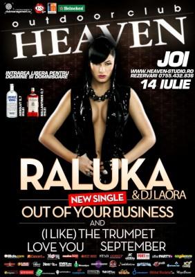 Raluka & DJ Laora @ Heaven Outdoor Club www.vedetepenet.ro